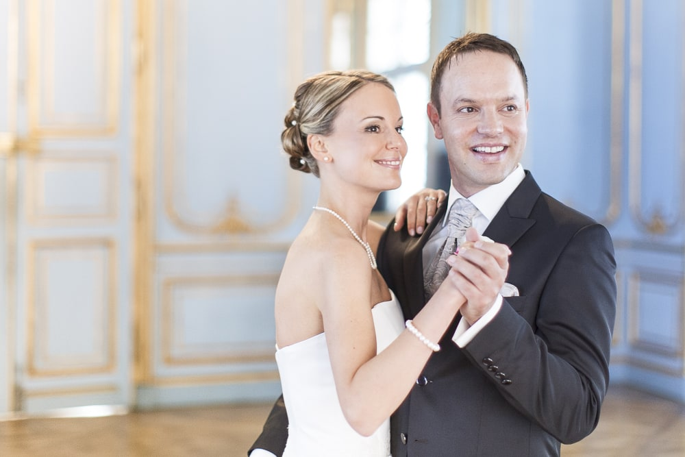 Paarhsooting Schloss Solitude, Hochzeitsfotos