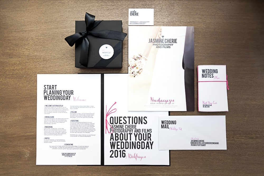 Wedding Welcome Package für meine Brautpaare