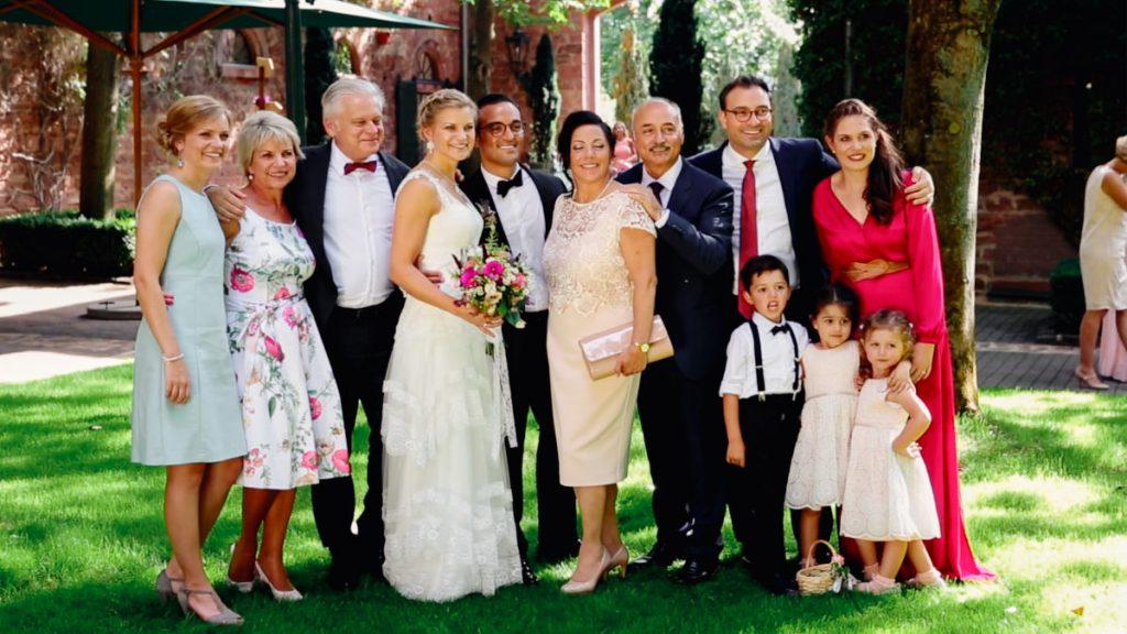 Hofgut von Hünersdorff Hochzeit Gruppenfotos