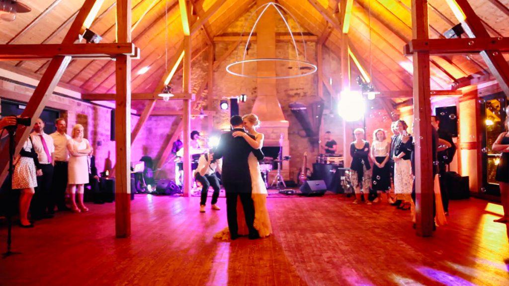 Hofgut von Hünersdorff Hochzeit Hochzeitstanz