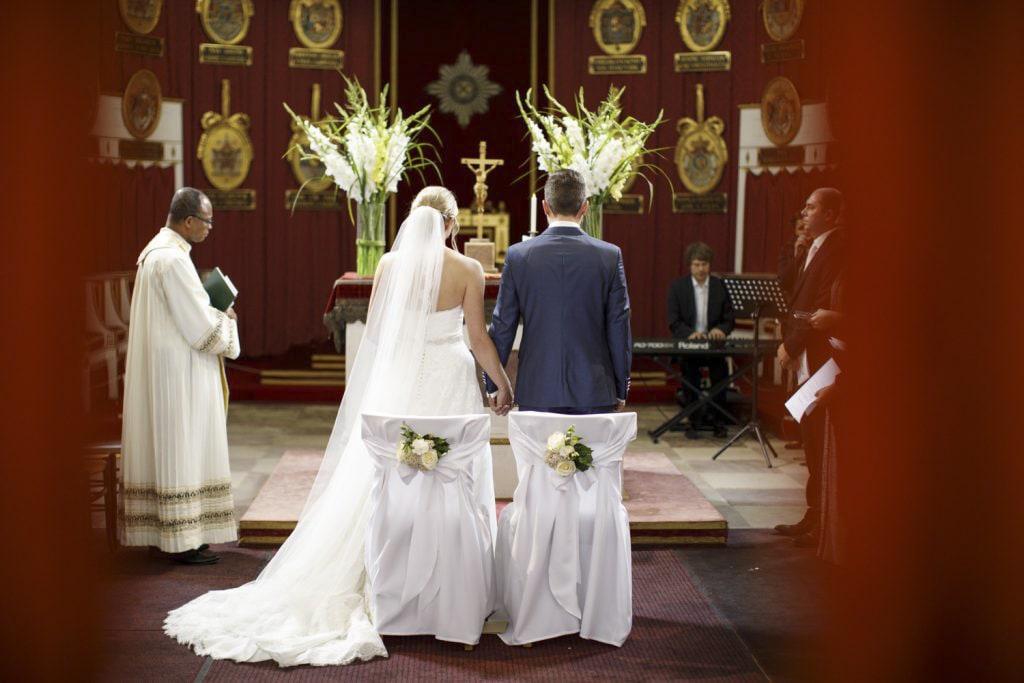 Hochzeitsfotograf Ludwigsburg Trauung Ordenskapelle im Schloss Ludwigsburg