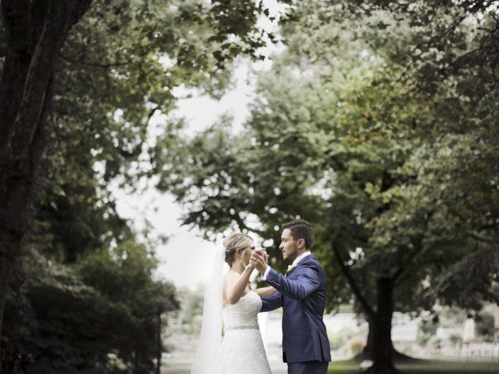 Hochzeitsfotos Schloss Ludwigsburg Park Blühendes Barock