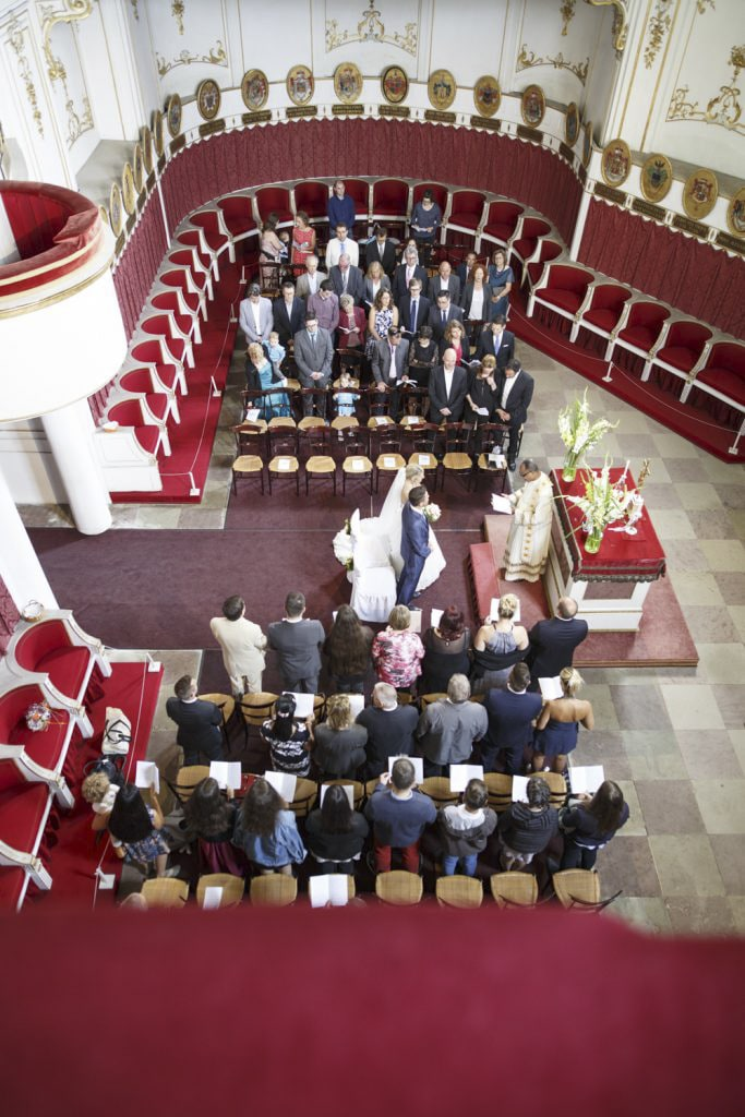 Hochzeit Ordenskapelle Schloss Ludwigsburg
