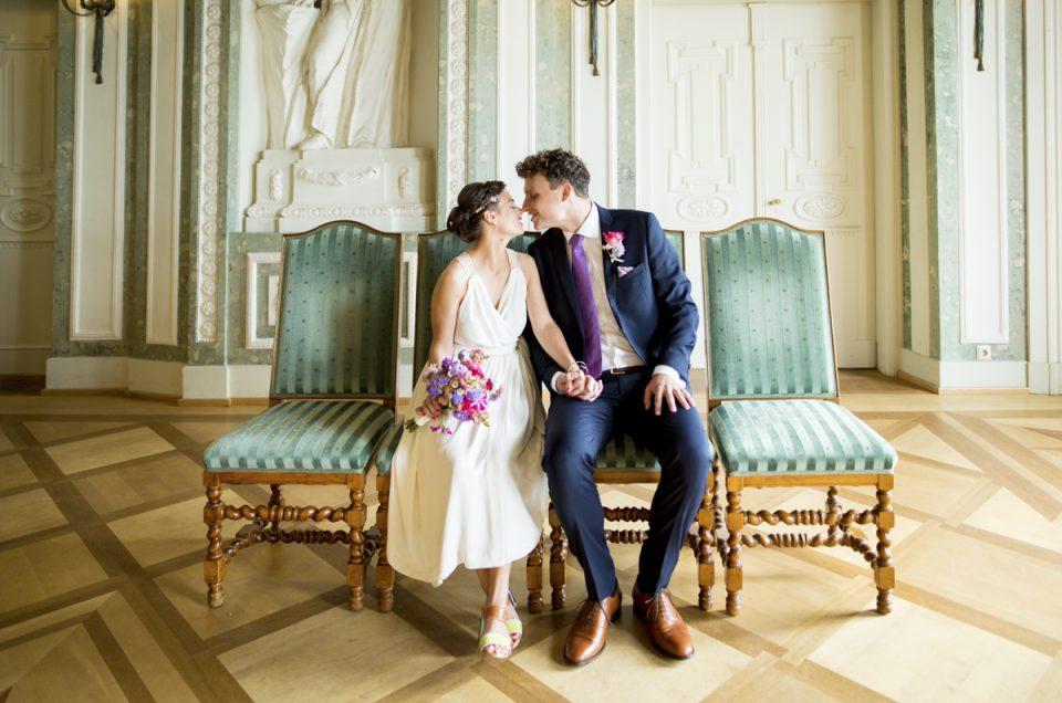 Hochzeitsfotograf Frankfurt | Standesamt Hochzeit Bolongaropalast