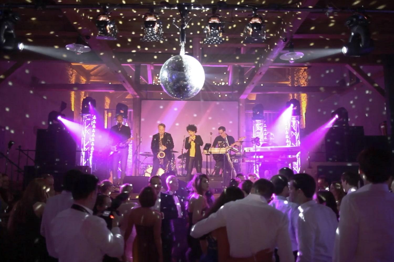 Partylicht Hochzeit