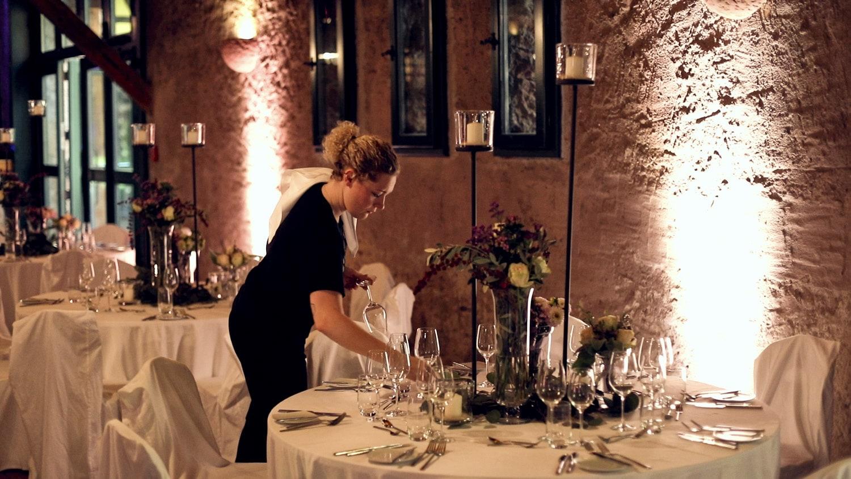Hochzeit Hünersdorff Dinner
