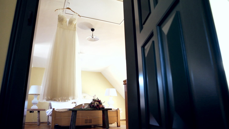 Hochzeit Hofgut von Hünersdorff Hochzeitskleid