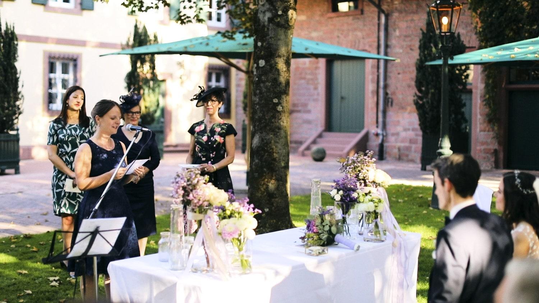 Hochzeit Hofgut von Hünersdorff Eltern