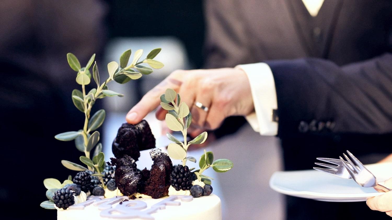 Hochzeit Hofgut von Hünersdorff Vegane Hochzeitstorte