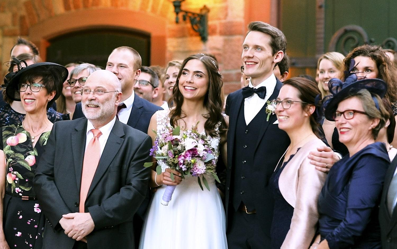 Hochzeit Hofgut von Hünersdorff Familienfotos