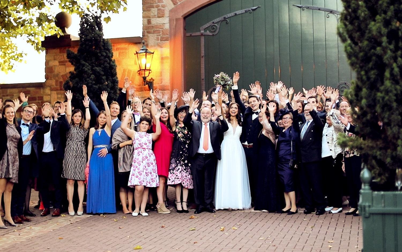 Hochzeit Hofgut von Hünersdorff Gruppenfotos