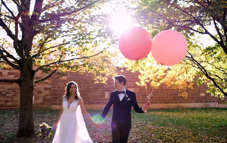 Hochzeit Hofgut von Hünersdorff Ballons