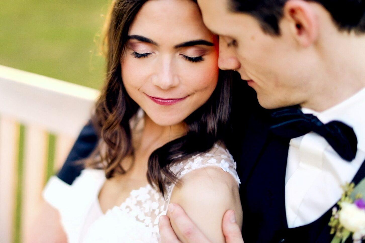 Hochzeitsfotograf Hofgut von Hünersdorff Brautpaar