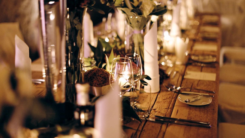 Hochzeit Hofgut von Hünersdorff Tischdecke