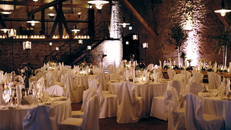 Hochzeit Hofgut von Hünersdorff Festsaal