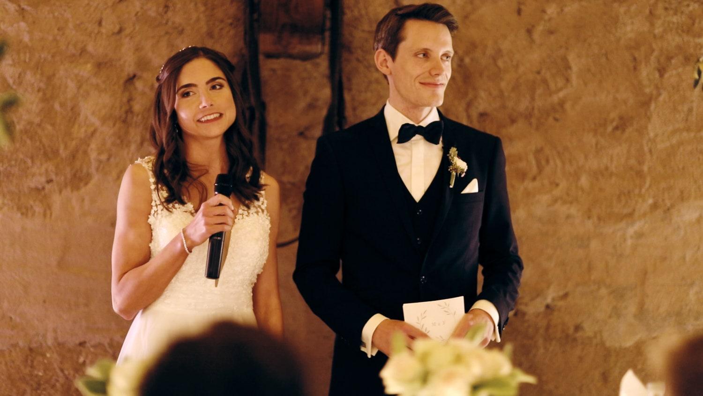 Hochzeit Hofgut von Hünersdorff Rede