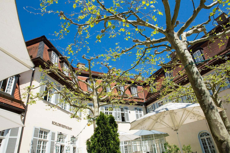 Schloss Solitude Gastronomie Terrasse