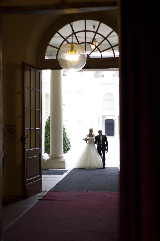 Brautvater Brauteinzug Ordenskapelle Ludwigsburg Hochzeit