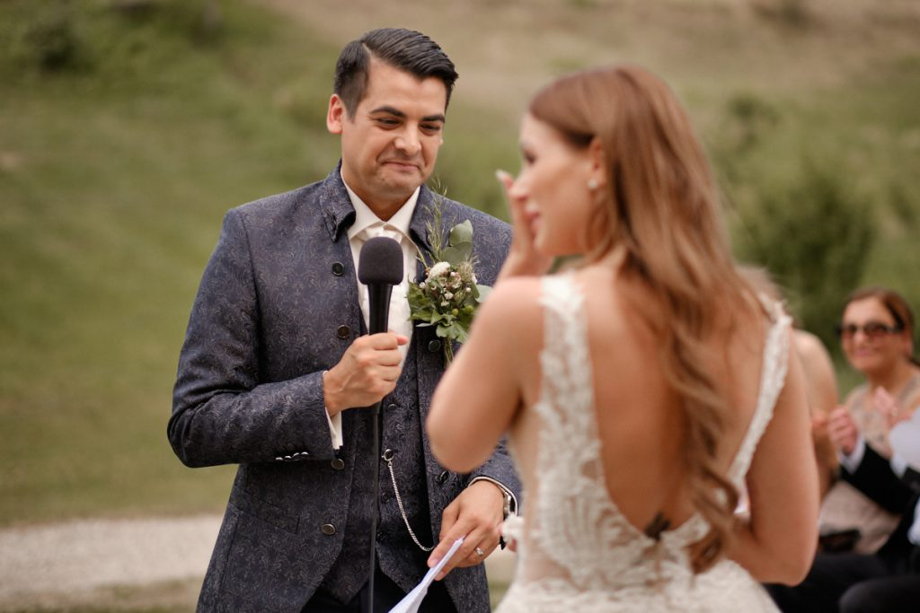 Real Wedding Eheversprechen