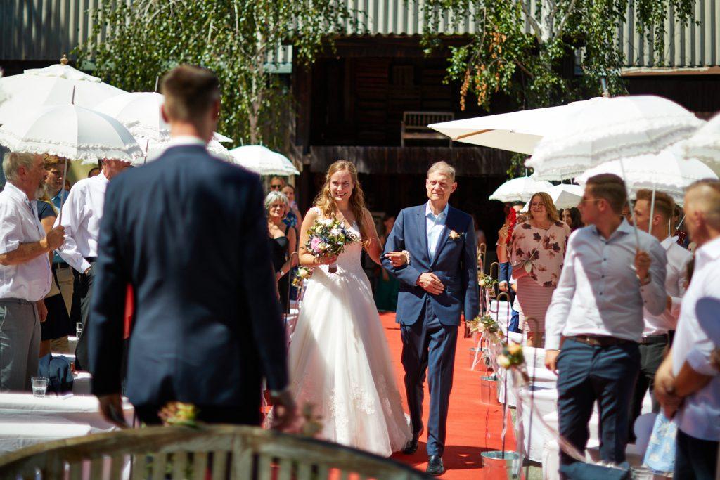 Hof Leutenecker Hochzeit Trauung