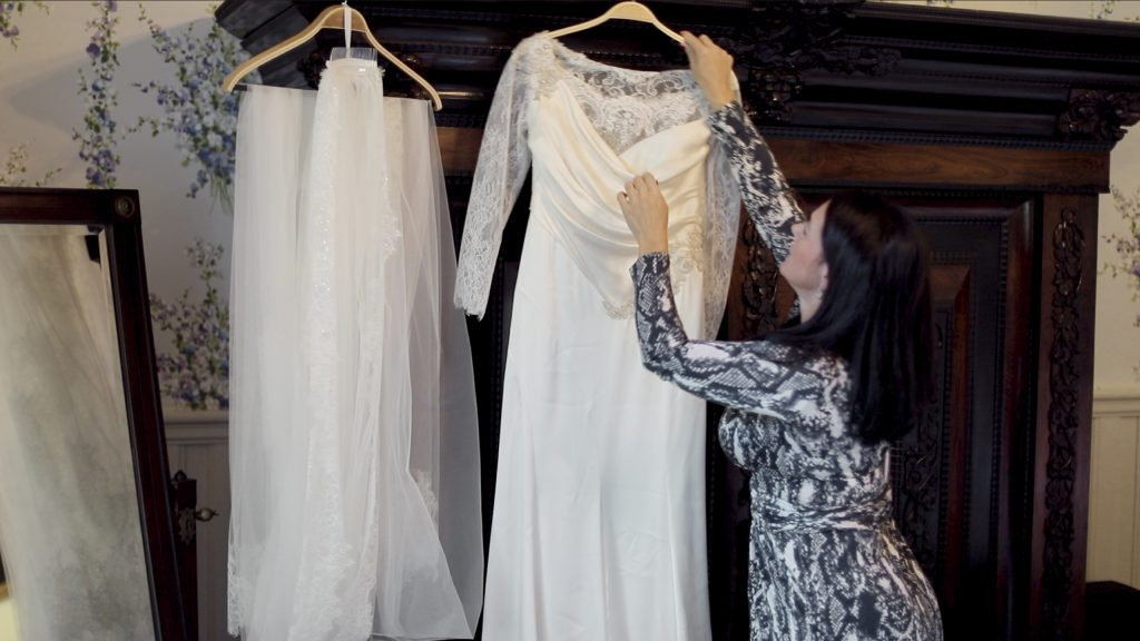 Schlosshotel Kronberg Getting Ready Dress
