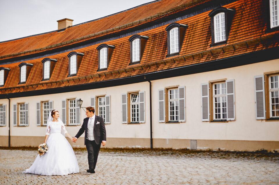 Hochzeitsfotos Schloss Solitude Sarah + Karl